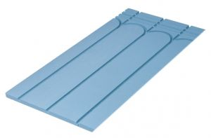 25MM Solid Floor Routed Panel for 16 / 15 mm Underfloor Heating Pipe – 200mm Centre