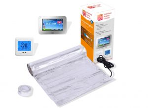 Underfloor Heating Foil Mat Kit for Laminate / Wood
