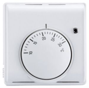 Mechanical Water UFH Thermostat with Central Knob  (Air Sensing Thermostat 3Amps)