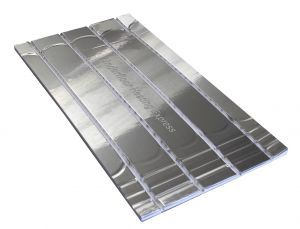 400KPA EPS 20mm Routed Panel for 16 / 15 mm Underfloor Heating Pipe – 150mm Centre