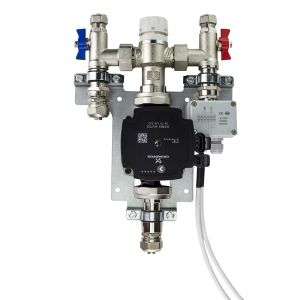 Single Zone/ Room Grundfos Manifold Pump Pack Mixing Valve Unit