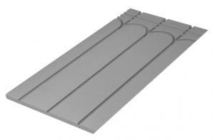 XPS 18mm Routed Panel for 12mm Underfloor Heating Pipe – 150mm Centre
