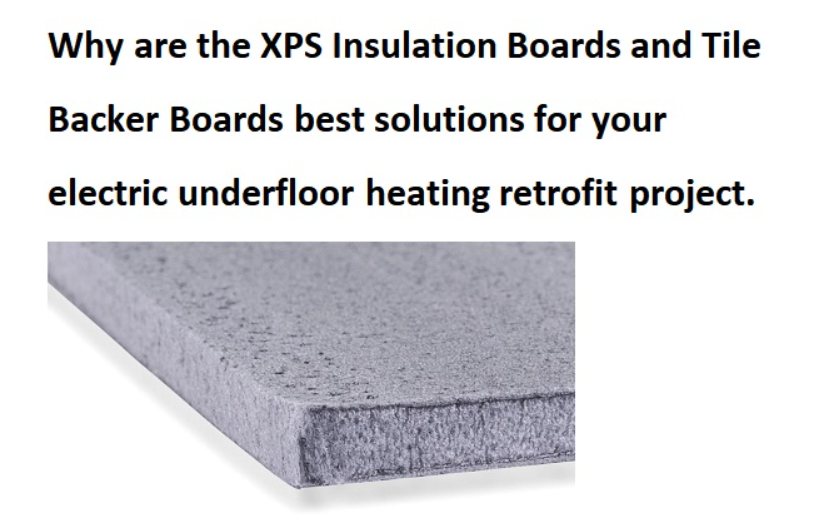 Underfloor Tile Backers and Insulation Boards