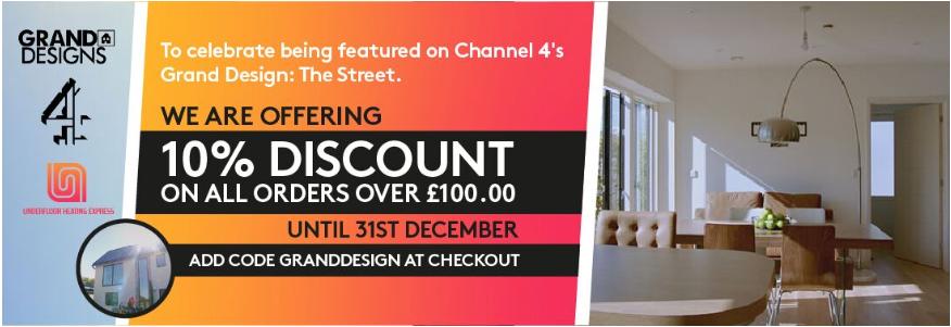 Underfloor Heating Express Featured on TV - Channel 4 Grand Design