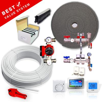Water Underfloor UFH Heating Kits UK Manifolds Pumps, Underfloor Pipes