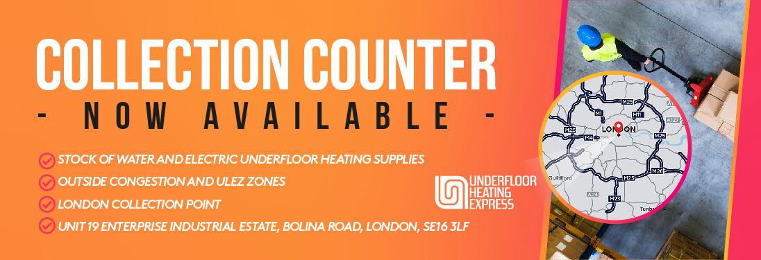 collect underfloor heating in london
